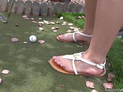 fetiche por pés Kimber madeiras