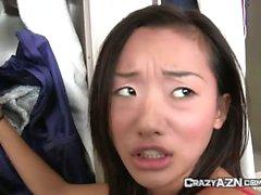 Two Pretty Japanese Schoolgirls Get Fucked Hard In School