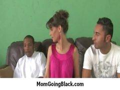 Nasty mom rides huge black monster cock 26