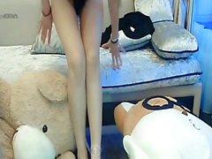 Striptease adolescente novia Pechos Grandes