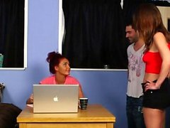 Cfnm brits judge facial