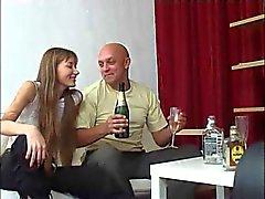 adolescente russo e velho