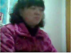 50 vuotta vanha kiinalainen Mifl näyttää tissi