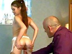 anally checking the new secretary