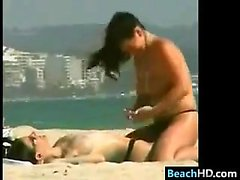 Lesbians At The Beach