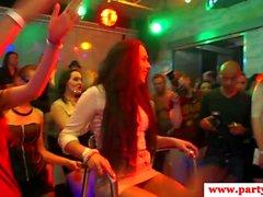Echte Euro bachelorette facefucked auf Party