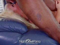 Grandma fucked by young black cock