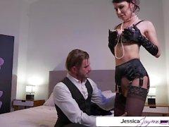Jessica Jaymes fucking a big hard dick, glamour, hardcore & big boobs