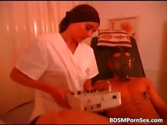 BDSM action in hospital where sexy nurse part2