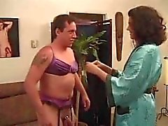 Dirty talking wife makes her husband her bitch