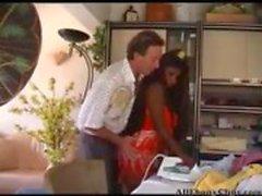 Olivia Villalba черному дереву Семяизвержение Ebony проглотить межрасовый африканская гетто BBC