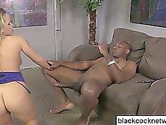 Black cock slut rides Impero mandingo