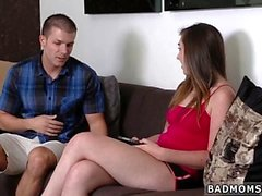 Pale milf first time A Mother partner's daughter Arrangement