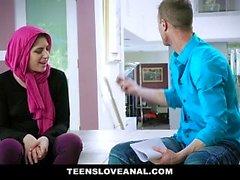 TeensLoveAnal - Başörtüsü Dini Teen Anal Fucked