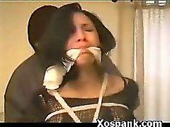 Mulher extrema Em BDSM Spanking