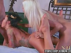 2 Of Our Favorite Top Pornstars In A Threesome