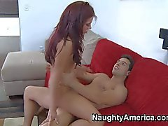 Hot bodied Alexa Nicole gets her love tunnel filled with dick