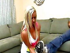 Nasty blond meisje ooit gezien