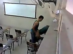 caught fucking in the classroom