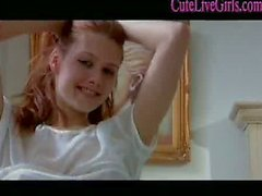Redhead Teen Showers Then Gets Dirty With A Facial In Bed 3 .wmv