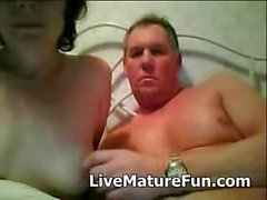 Mature Couple Getting off on Webcam