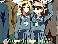 Hentai skolflicka med en kuk bli riktigt upphetsad