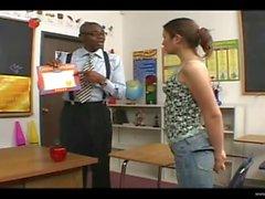 Amber Rayne Loves Her Black Teacher