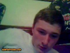 Ragazzi etero in webcam si masturbano a vicenda