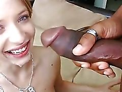 Puny Gal Cries While Being Fucked by BBC