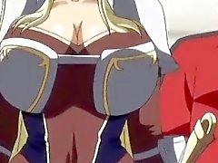 Lindo de de 3D anime de la princesa de le consigue inmensos los Boobs burlas