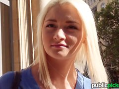 Mofos Skinny blonde euro babe gets picked up