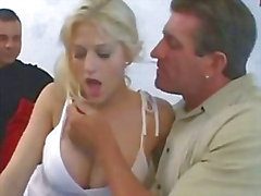 Busty Hottie Watched By Hubby