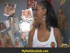 Hot Girl Blows A Stranger In A Bathroom Gloryhole 5