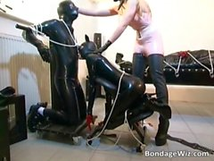 Awesome BDSM sex scene with bad girls