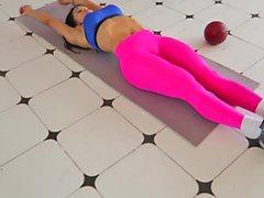 Oui!!! conditionnement physique ASS chaud Cameltoe chaud 82