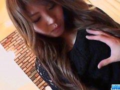 Hot porn play along busty beauty Maria Amane