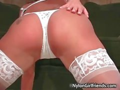 Cali Taylor spreading her legs wide part5