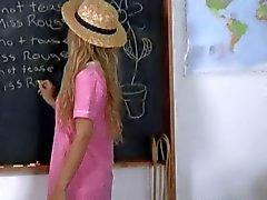Очень Плохое Блондинка British девушка школы