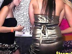Cnfm party sluts kiss and lick