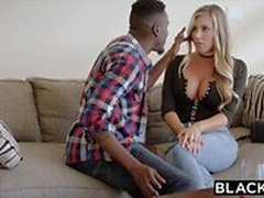 BLACKED Samantha Saint Cheats kanssa BBC
