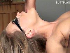 Busty cowgirl teacher fuck