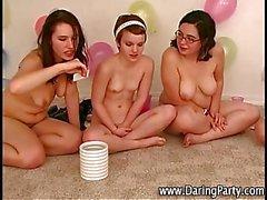 Reizvoller jugendlich Lesbierinnen sehr heiß für einander