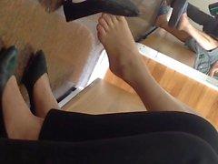 Pés Vietnamita Shoeplay oscilação Espontânea
