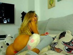 Big boobs pussy striptease