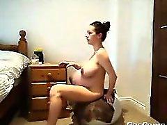 Çıplak Pregnant Woman