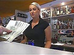 Banging secretly at the back of the bar