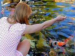 Leikkiä Kala saa minut janoavat Anaaliseksi ( 720 )