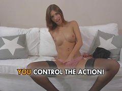 Jenna Jane - Brunette Beauty Gets Stuffed With Dick