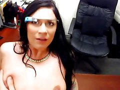 Porn with Google glass on.