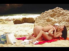 Brittany Stone and Sharon - On The Beach
